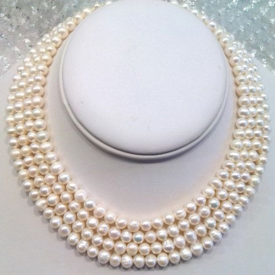 Pearl Necklaces £101 or more.  Luxury and Excellence